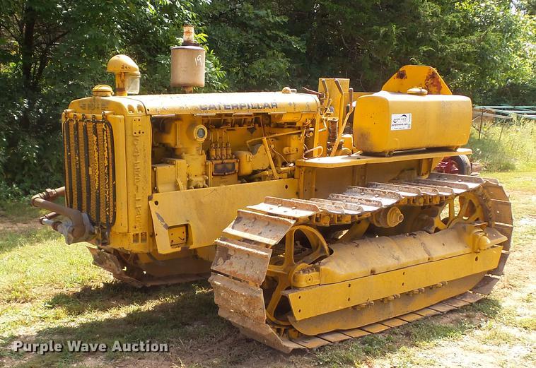 1936 Caterpillar RD4 crawler tractor   Item DE4840   SOLD! O