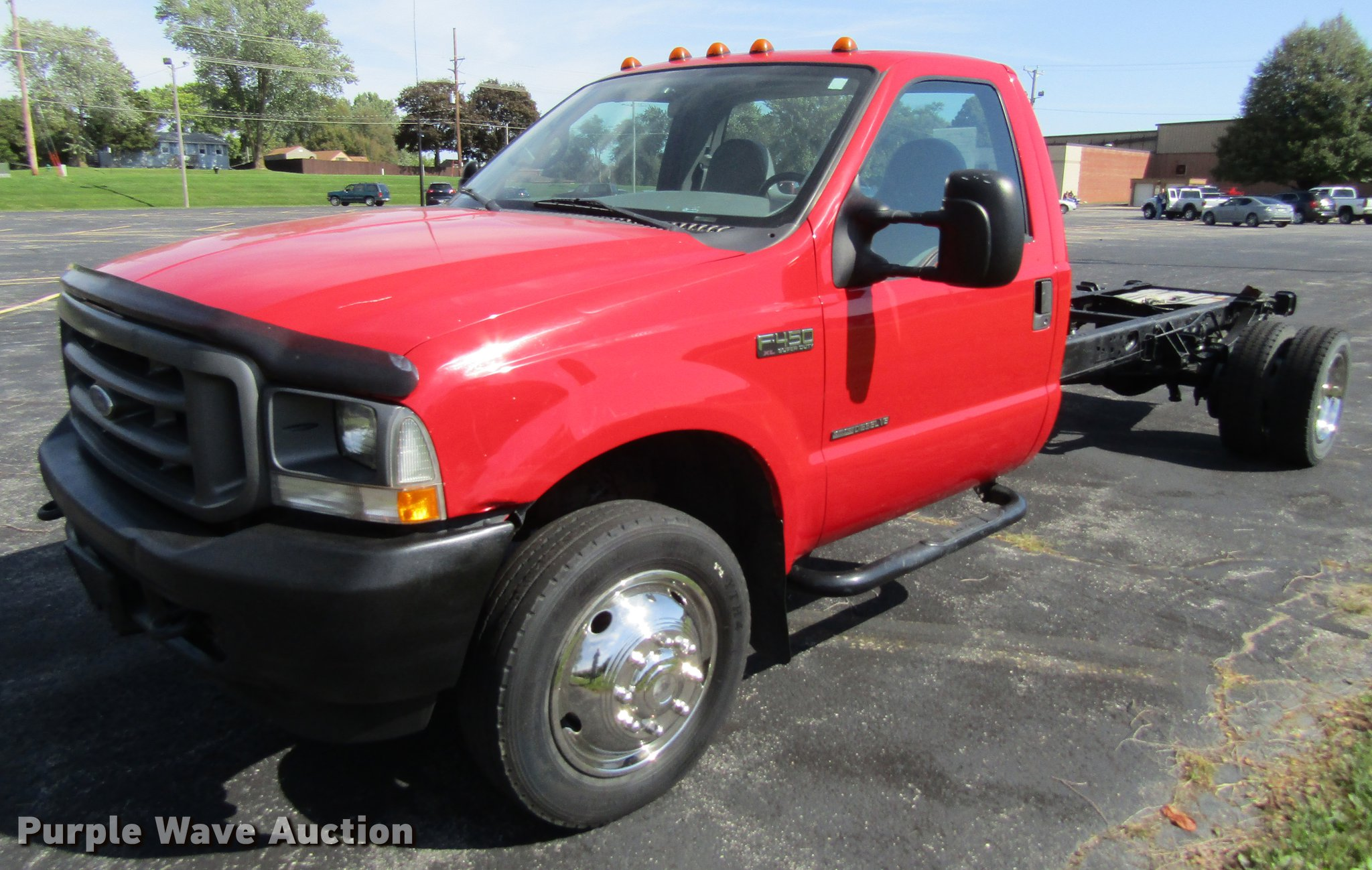 3810bbba6e DF3867 image for item DF3867 2002 Ford F450 Super Duty truck cab and chassis