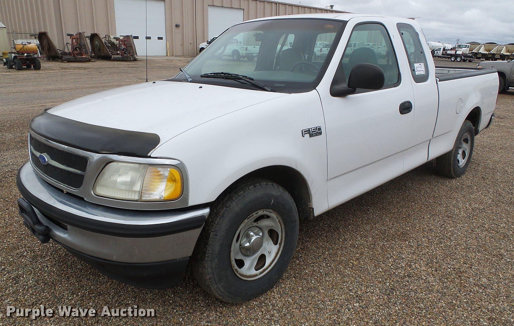 1997 ford f150 xl supercab pickup truck | item df2794 | sold
