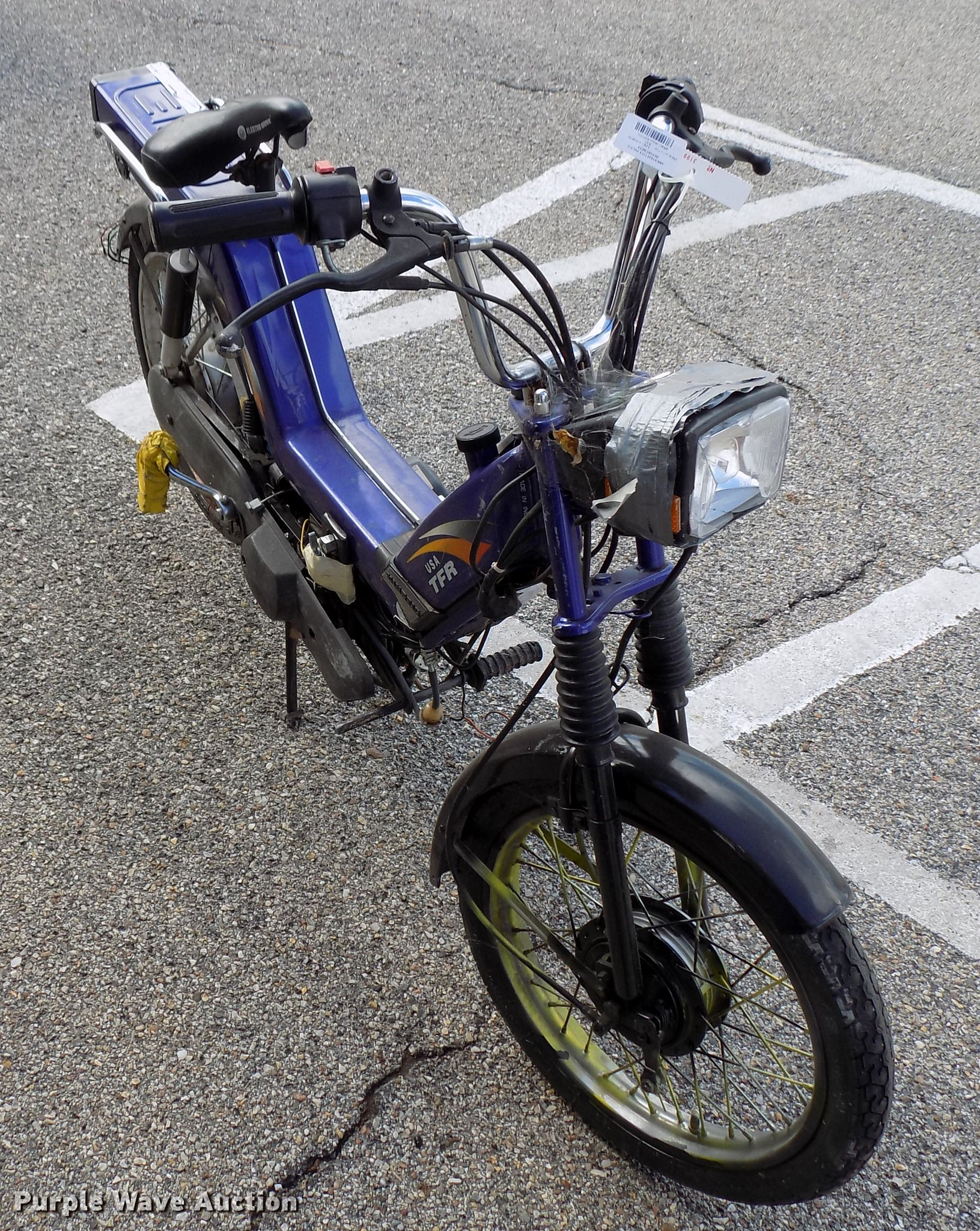 USA TRF gas powered bicycle | Item FQ9045 | SOLD! November 6