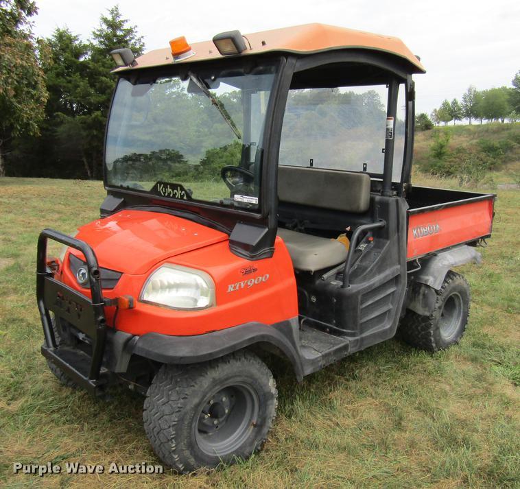 Kubota RTV900 Utility Vehicle Item EV9501 Wednesday Nove