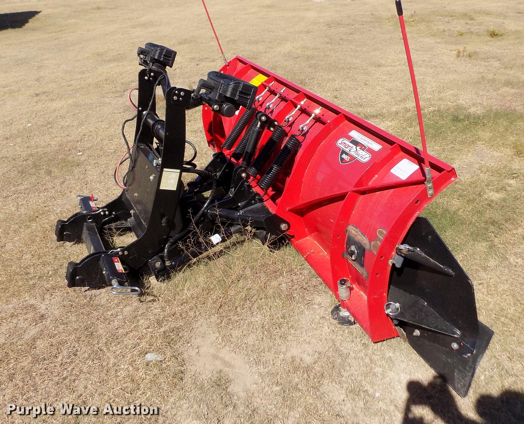 Snow Plow Prices >> 2016 Boss Snow Plow Item Er9181 Sold November 7 Vehicle