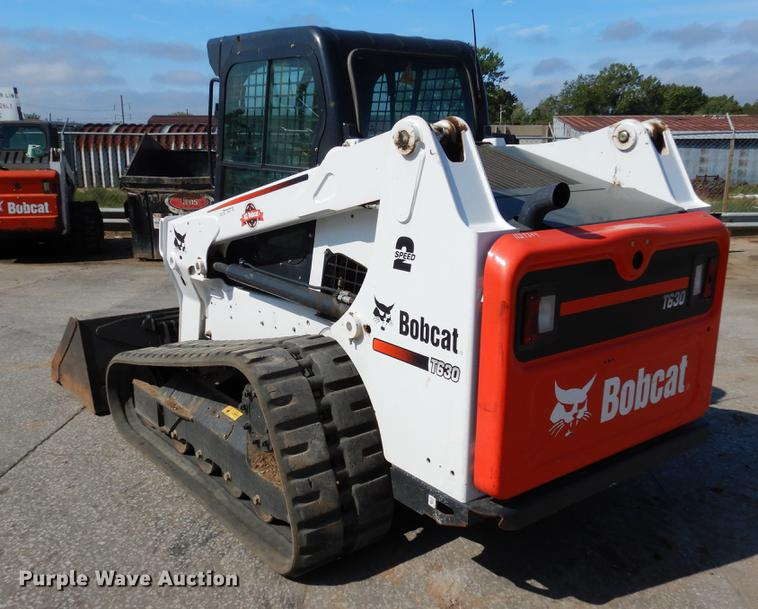 2016 Bobcat T630 skid steer | Item DB9331 | SOLD! November 8