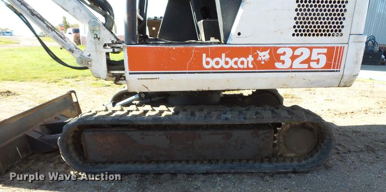 1996 Bobcat 325 mini excavator | Item DX9518 | SOLD! Novembe