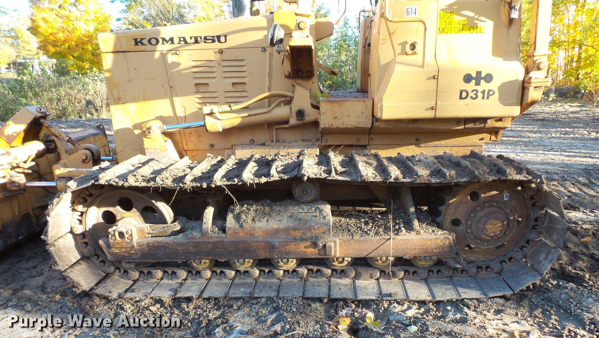 Komatsu D31P dozer | Item DX9515 | SOLD! November 8 Construc