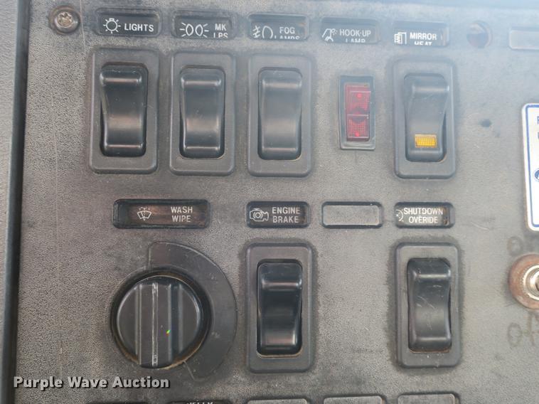 Mack Truck Engine Shutdown Light