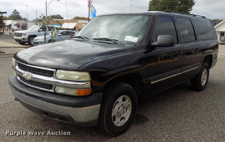2004 Chevrolet Suburban 1500 Suv Item Dd3495 Sold Novem