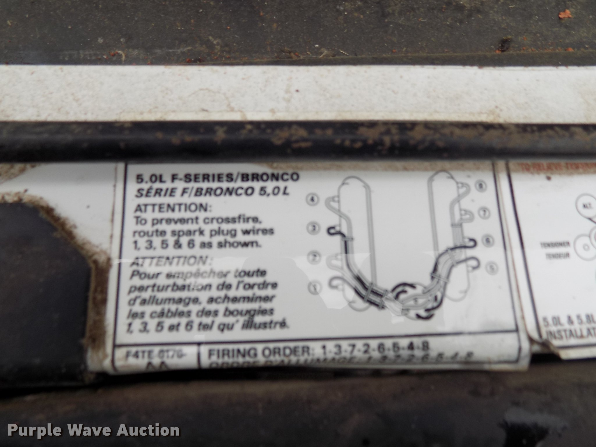 1994 Ford F150 Supercab Pickup Truck Item Dd3492 Sold N Zx 11 Spark Plug Wire Diagram Full Size In New Window