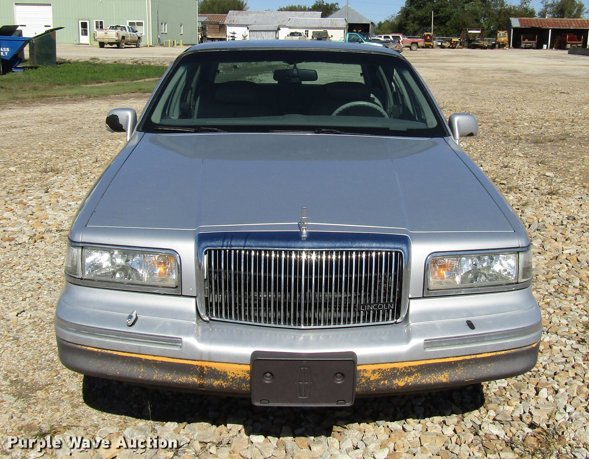 1996 Lincoln Town Car Item Dd3734 Sold November 27 Gove
