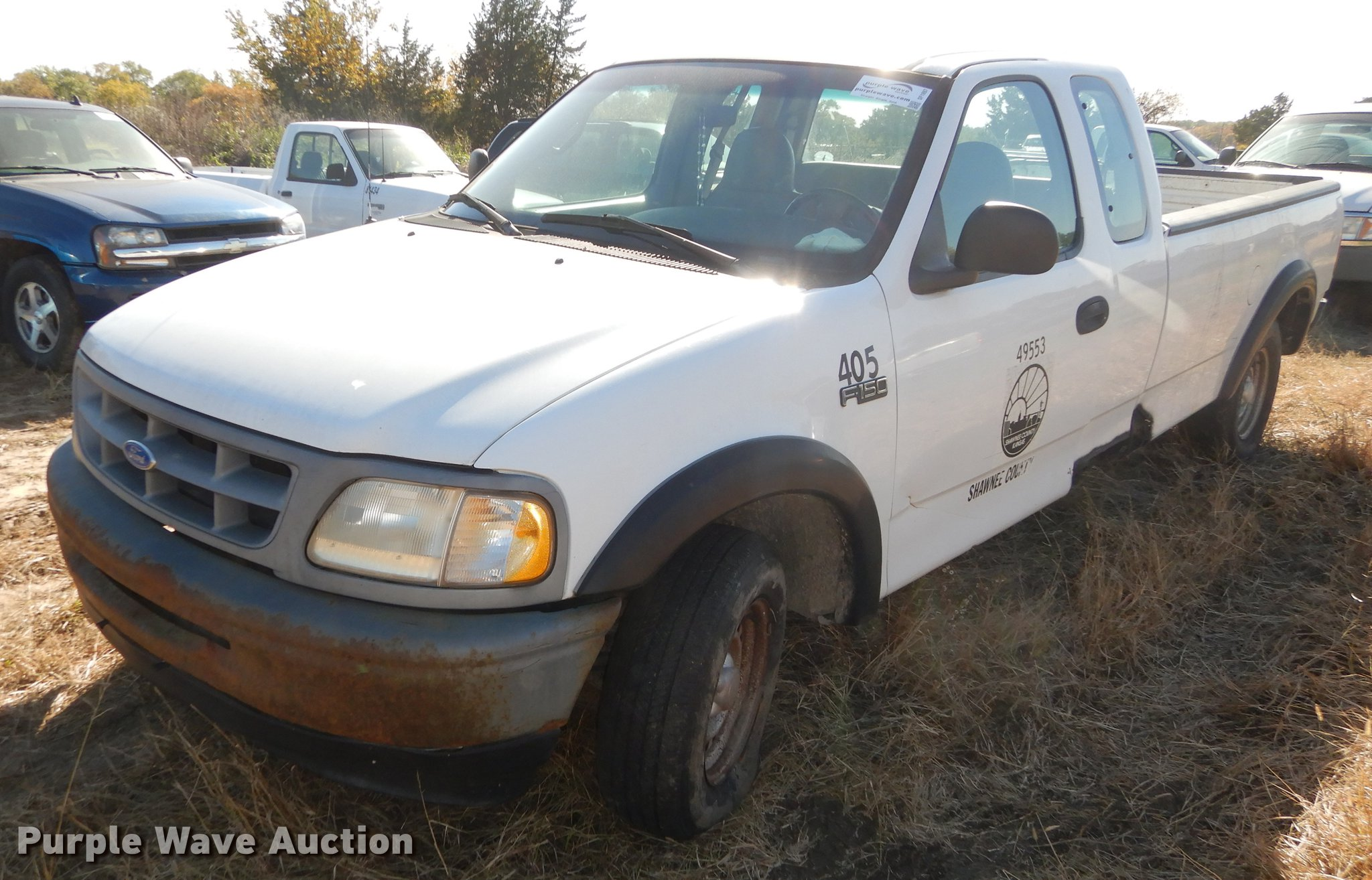 1997 Ford F150 Supercab Pickup Truck Item Df1897 Sold N