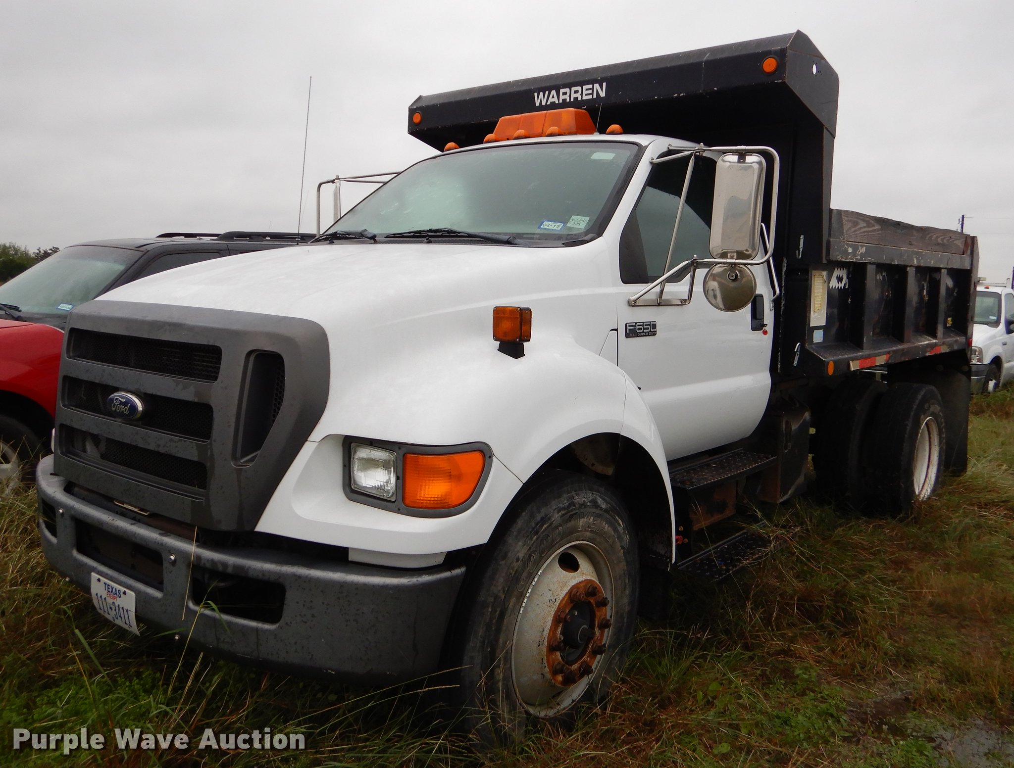 2004 Ford F650 Super Duty Dump Truck Item Eo9689 Sold N