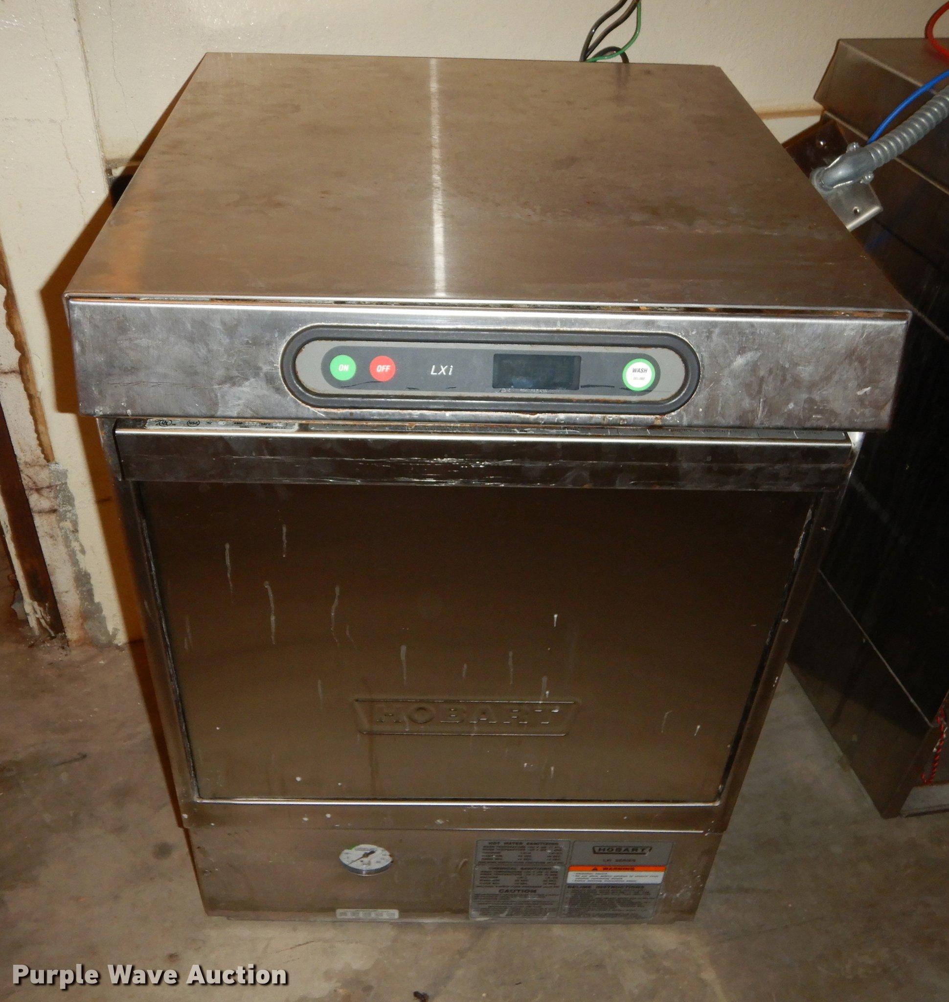 3) Hobart stainless steel dishwashers | Item FS9345 | Tuesd
