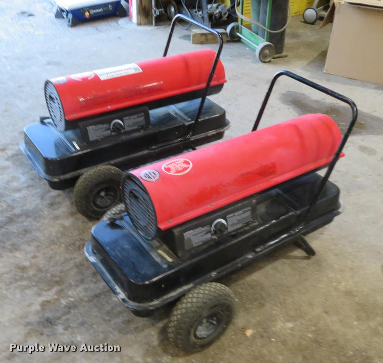 2) Reddy Heaters | Item DE6511 | SOLD! November 28 Vehicles