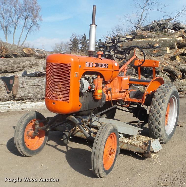 Allis Chalmers B tractor | Item DX9660 | Wednesday November