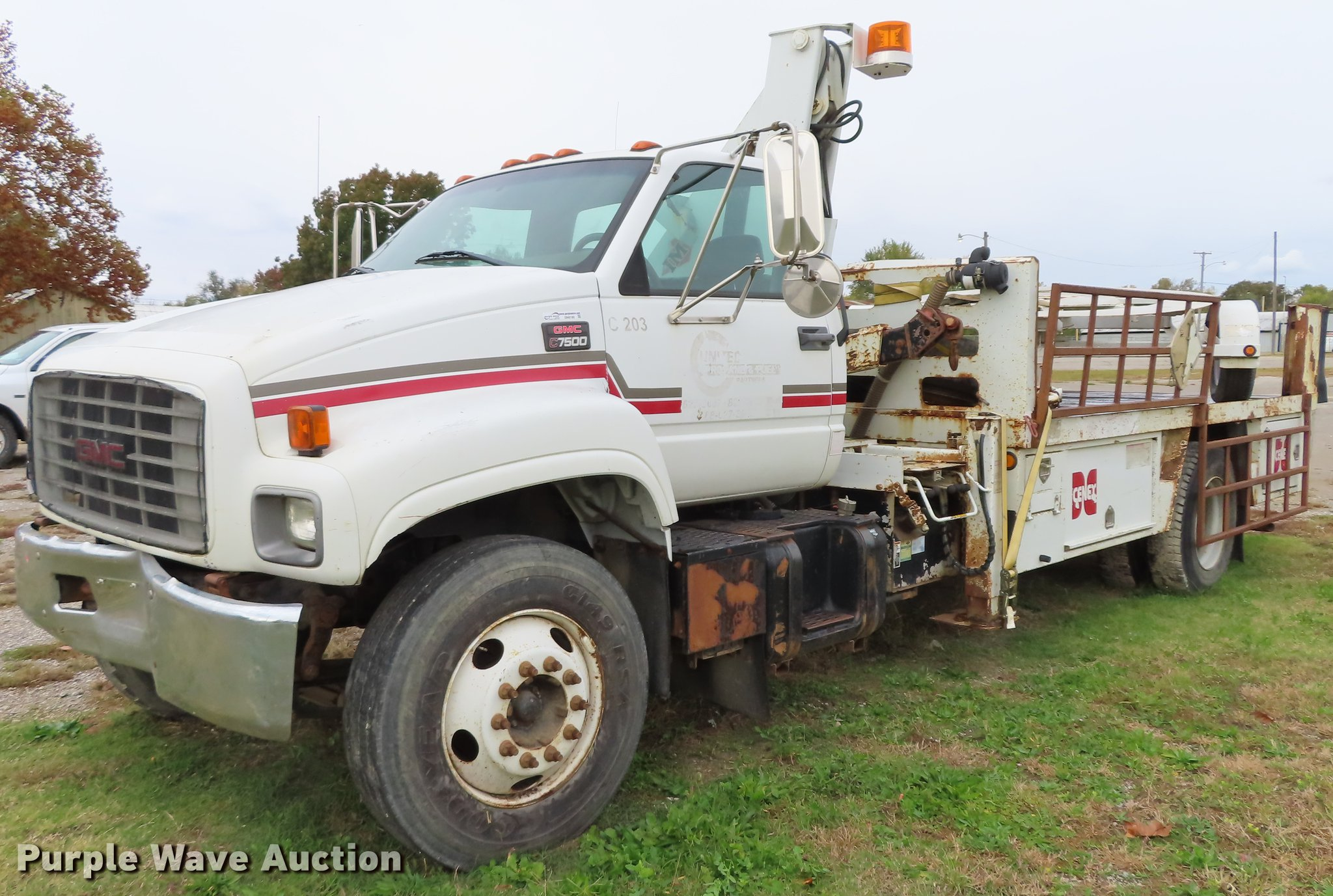 DN9190 image for item DN9190 2000 GMC C7500 ...