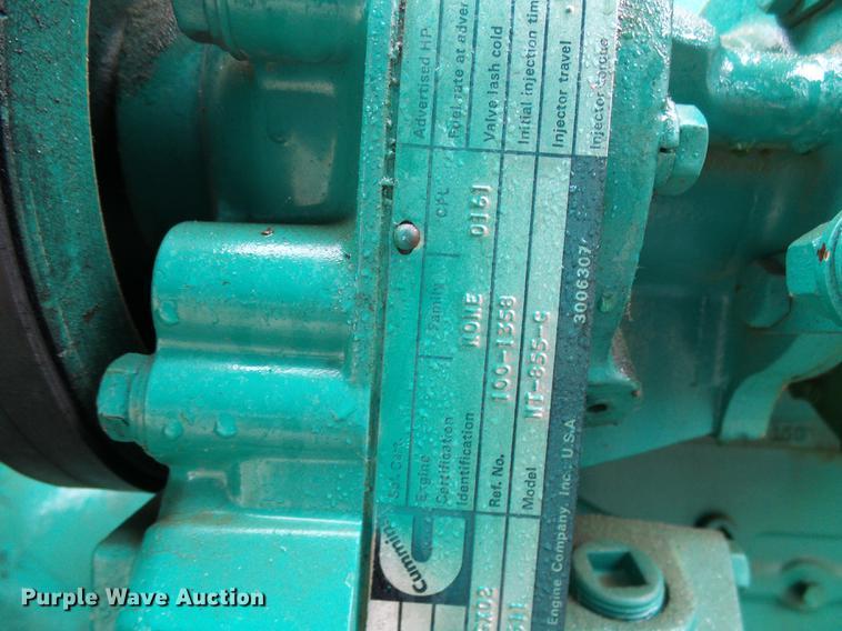 Onan 2000FDP generator | Item DE5322 | SOLD! November 29 Con
