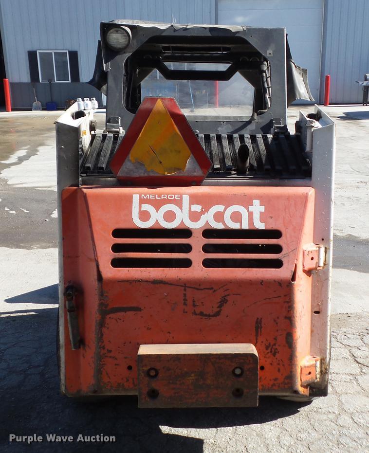 1988 Bobcat 642B skid steer   Item DZ9461   SOLD! November 2