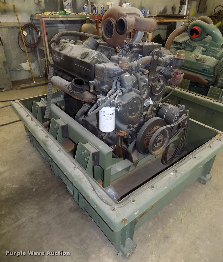 Detroit Diesel 8V92 V8 turbo diesel engine | Item DZ9597 | S