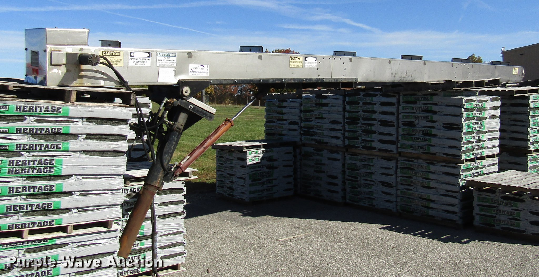 Richmond Conveyors C10108404-1 shingle conveyor   Item DE588