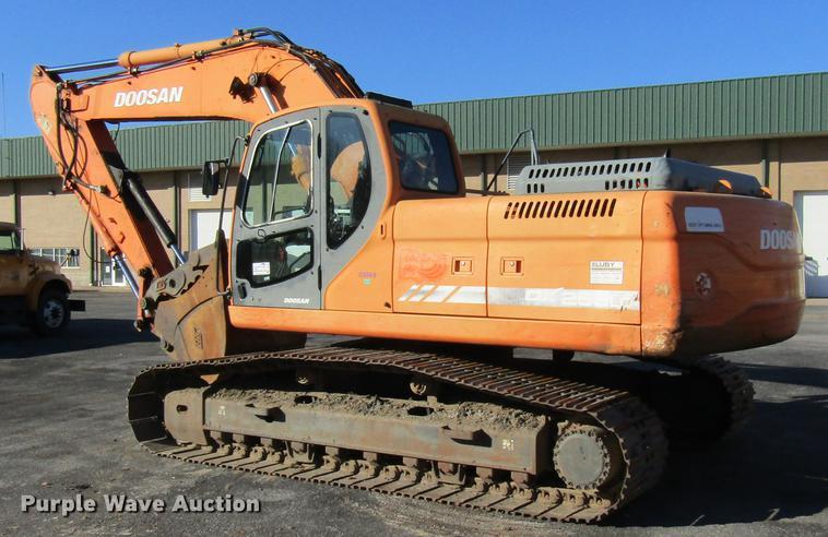 2008 Doosan DX255LC excavator | Item DE5896 | Tuesday Decemb