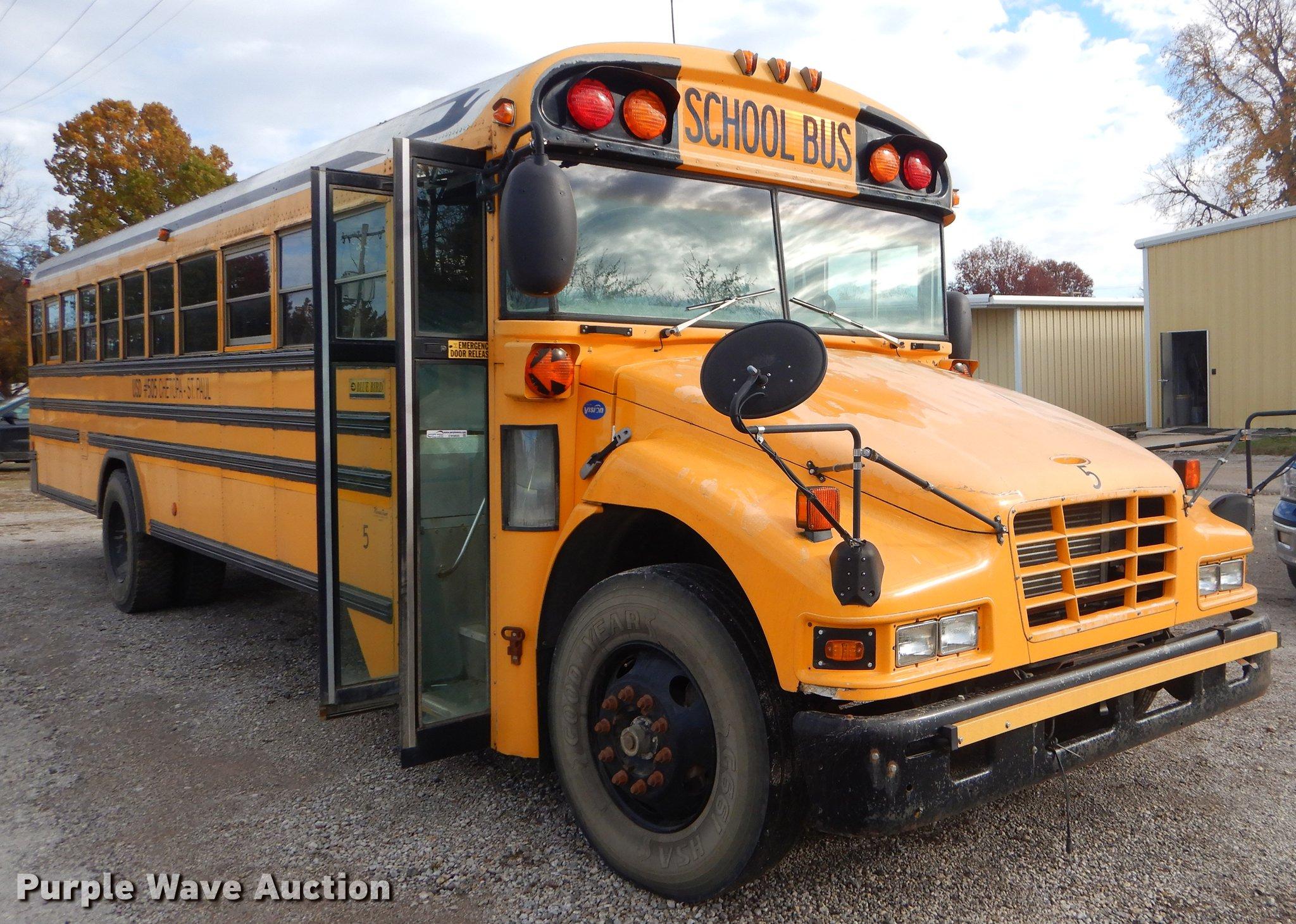 2005 Blue Bird Vision School Bus In Chetopa  Ks