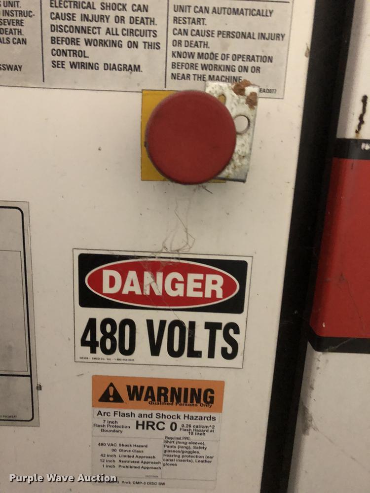 2001 Gardner Denver EAQS0F air compressor | Item DC0162 | SO... on