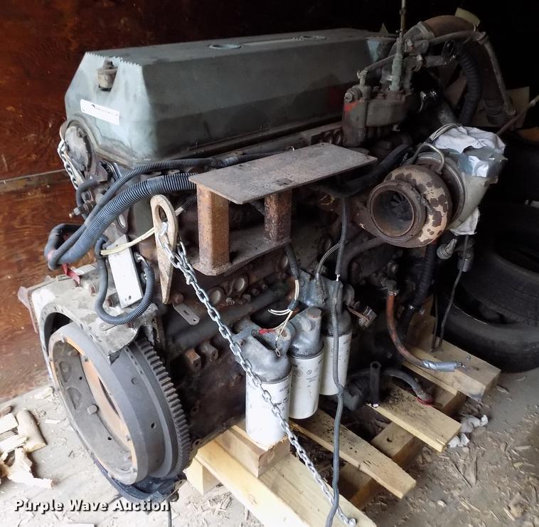 Detroit Diesel Series 60 >> Detroit Diesel Series 60 11 1l L6 Turbo Diesel Engine Item