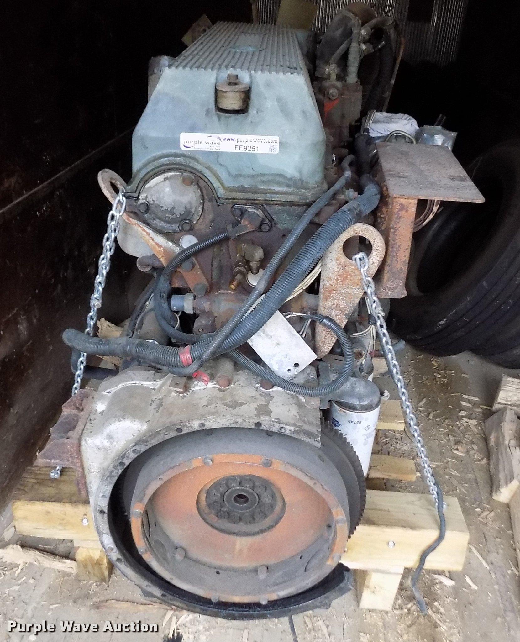 Detroit Diesel Series 60 11 1L L6 turbo diesel engine | Item