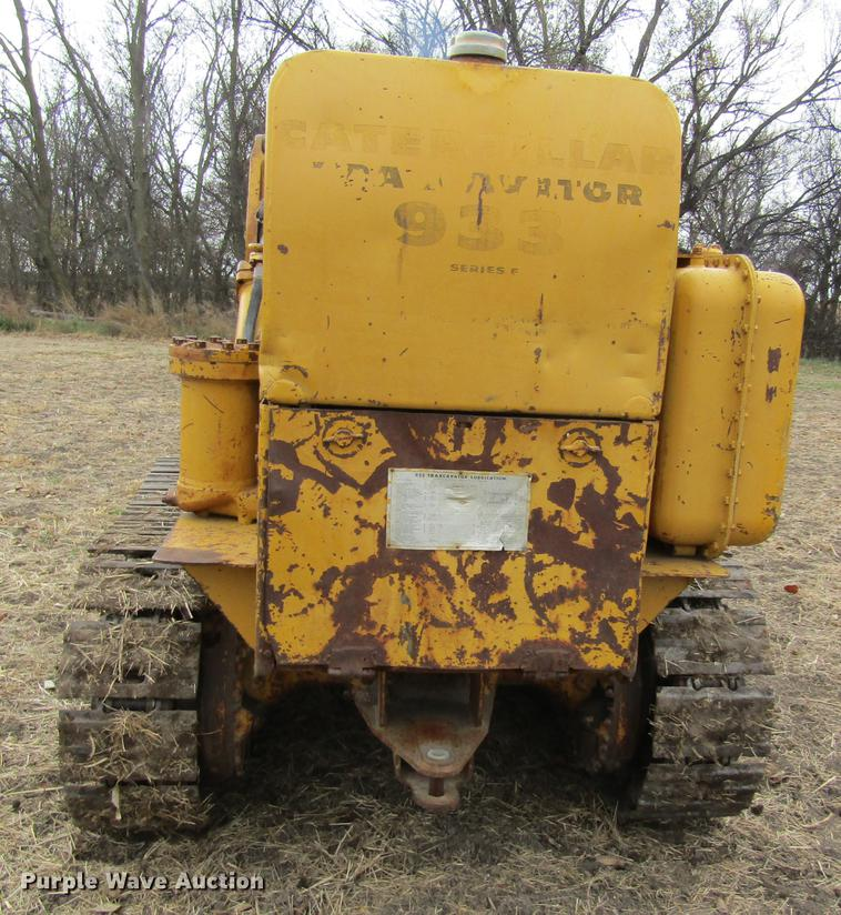 1963 Caterpillar 933F track loader | Item DB4906 | Thursday