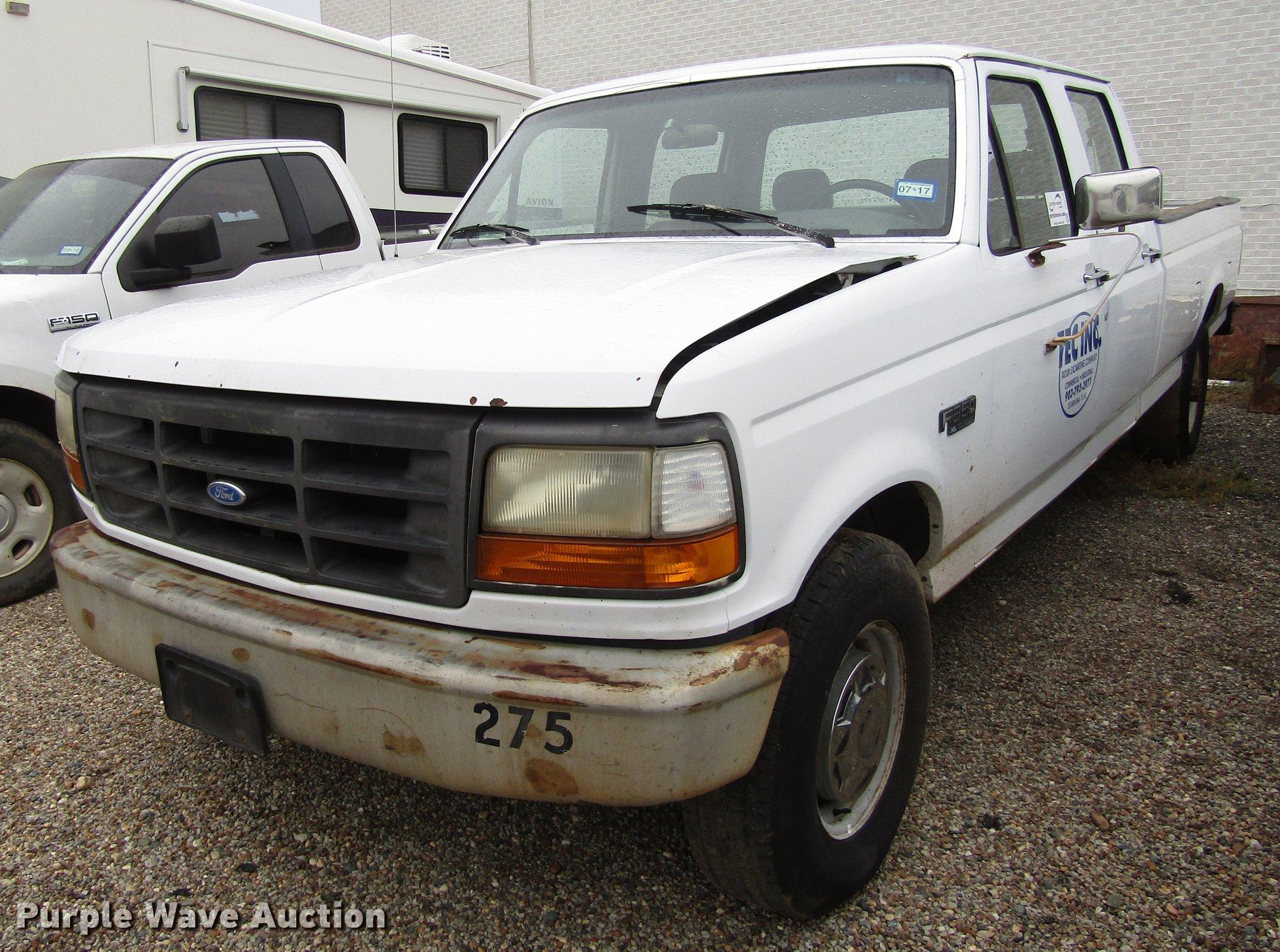 1994 ford f350 xl crew cab