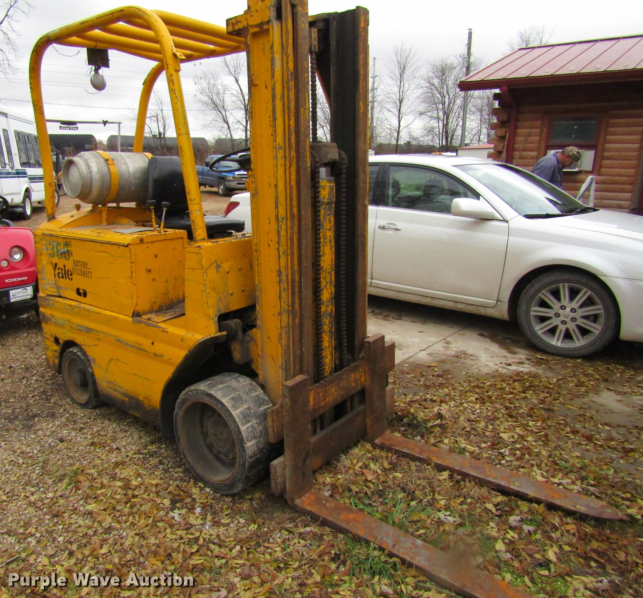 Yale L83C-050-SAT083 forklift | Item DF3887 | SOLD! December