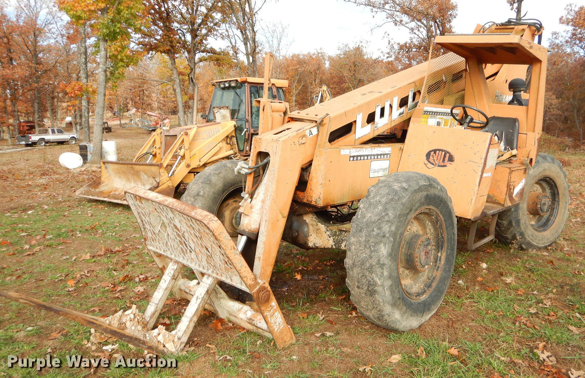 EW9631 image for item EW9631 Lull Highlander 644 telehandler