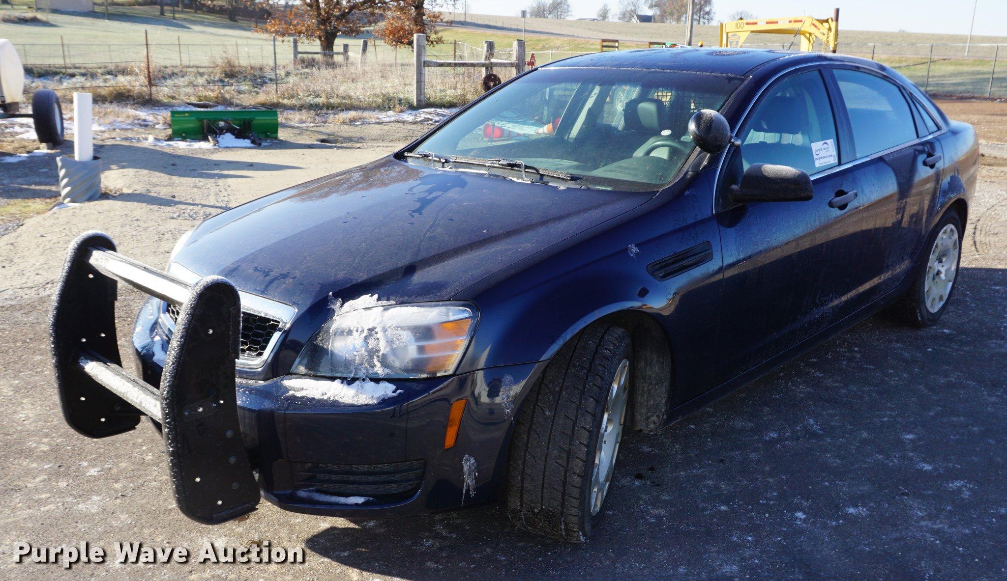 2012 Chevrolet Caprice Police Item Df1631 Sold December