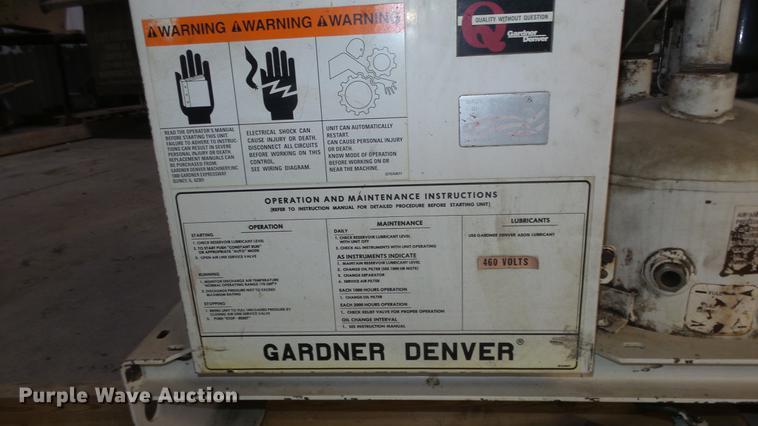 Gardner Denver Motor Wiring Diagrams - Wiring Diagrams on