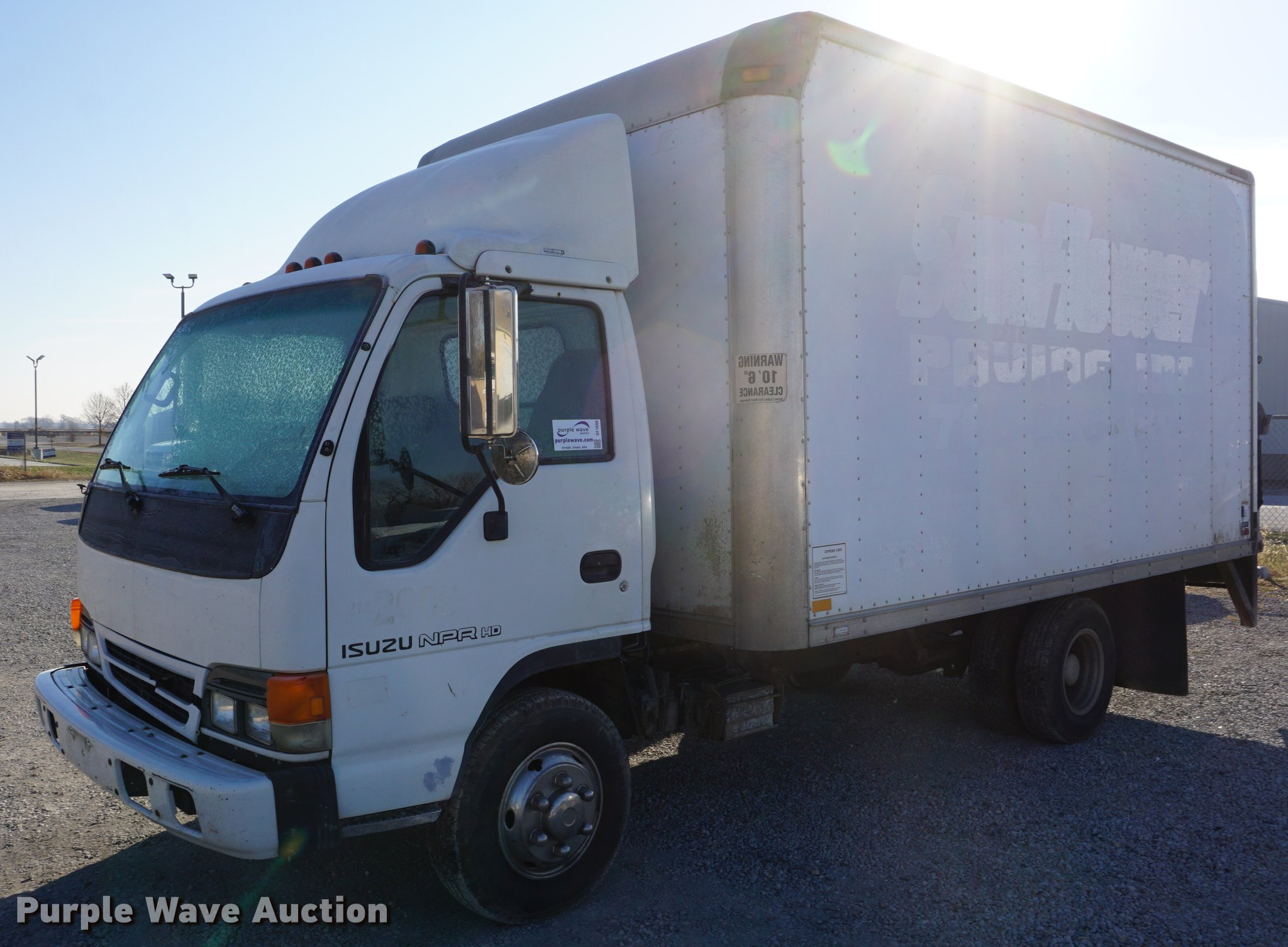 2002 Isuzu NPR HD box truck | Item DF1698 | Wednesday Decemb