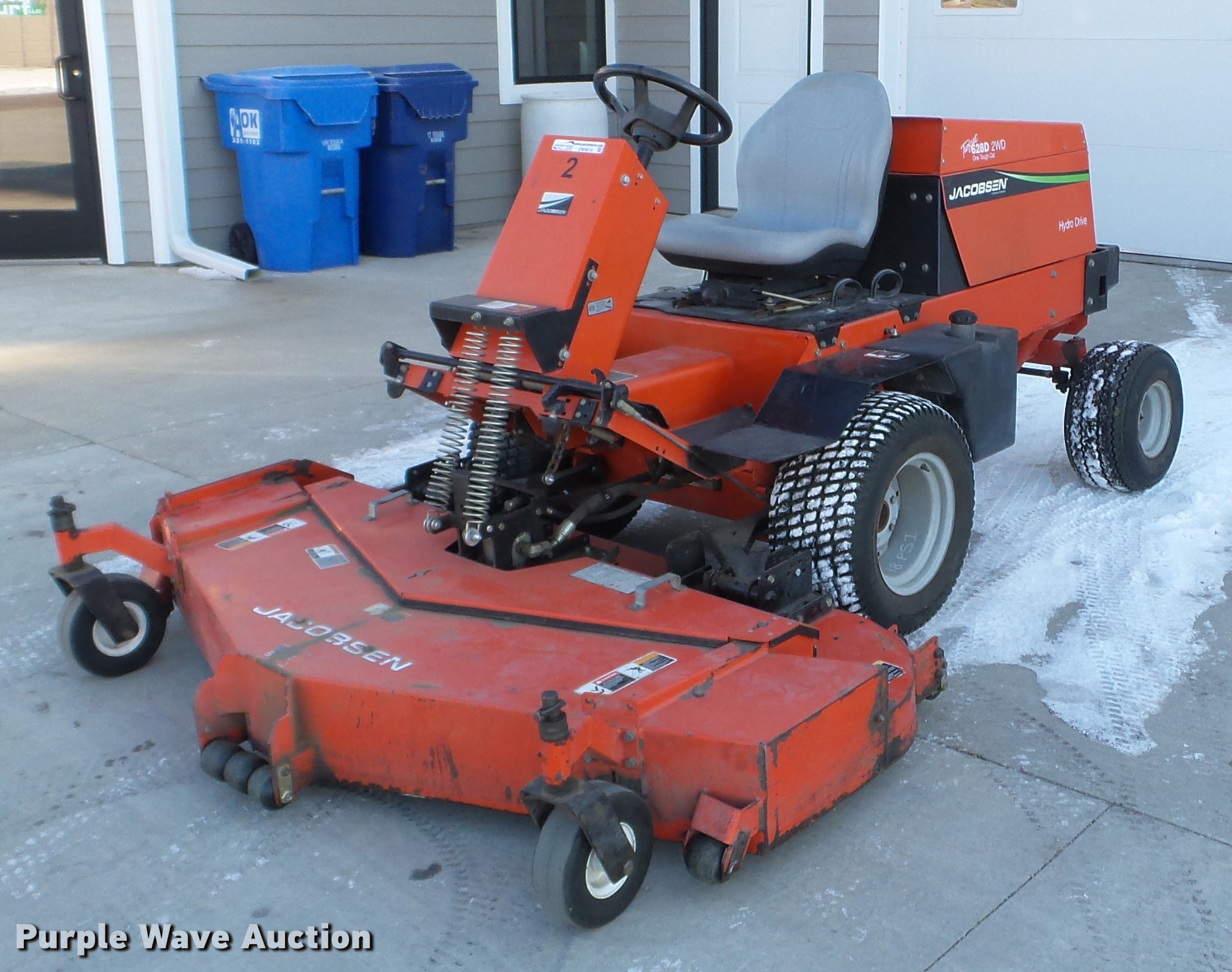 Jacobsen Turfcat 628D lawn mower | Item EW9818 | Wednesday D