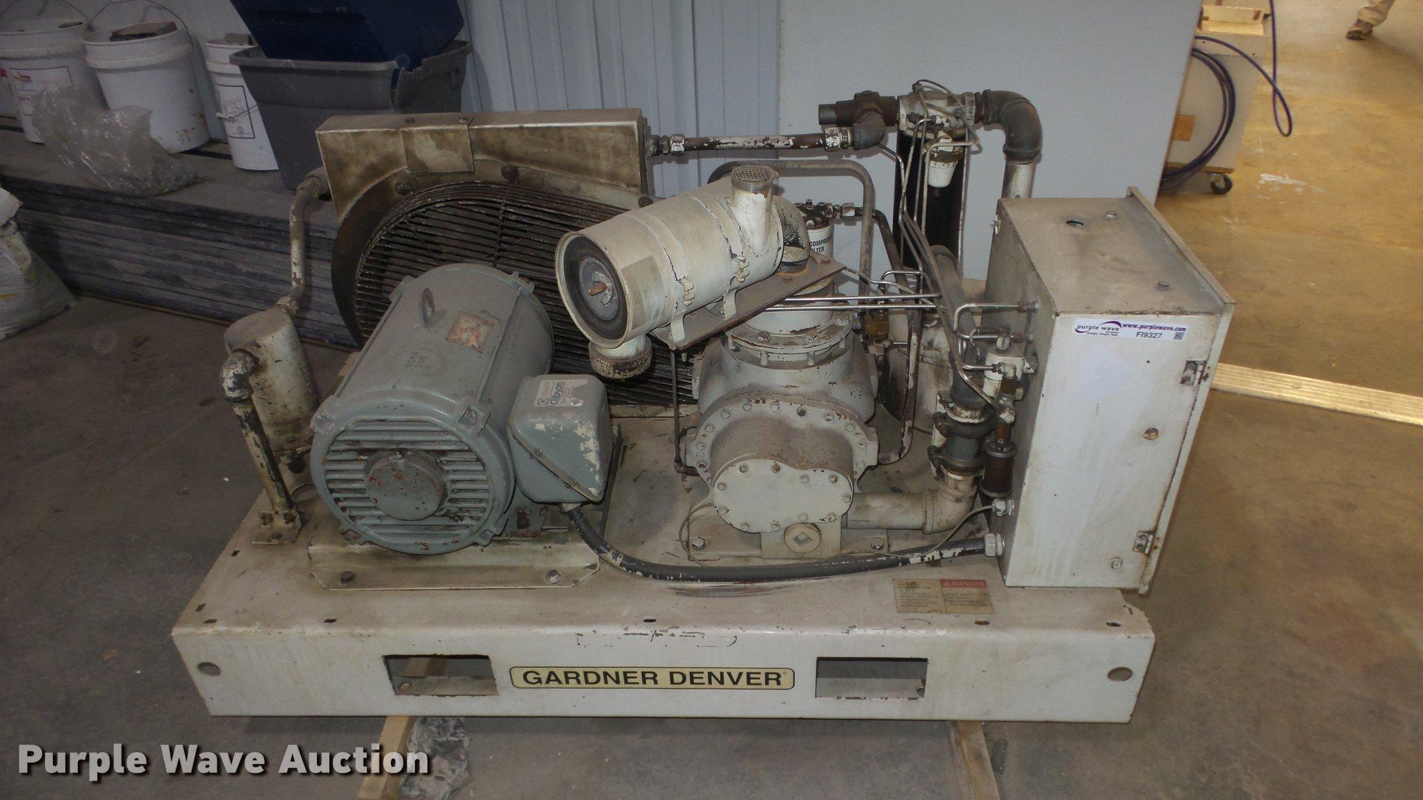 Gardner Denver EBERGF compressor | Item FI9327 | SOLD! Decem... on