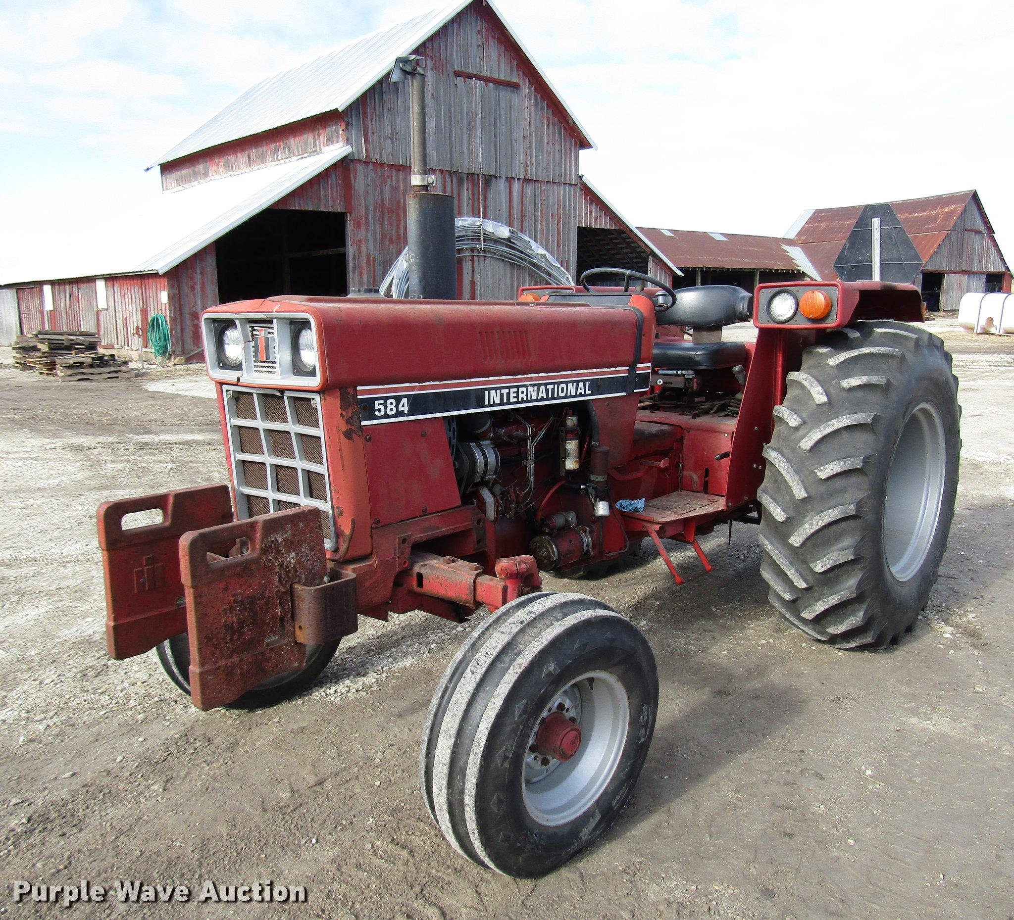 International 584 tractor | Item DD3874 | Thursday December