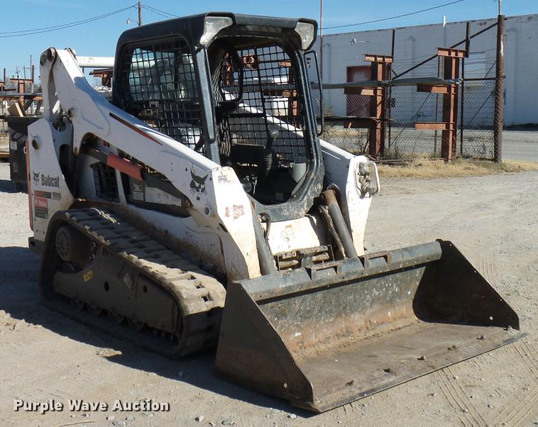2015 Bobcat T590 skid steer | Item DD5383 | SOLD! December 2