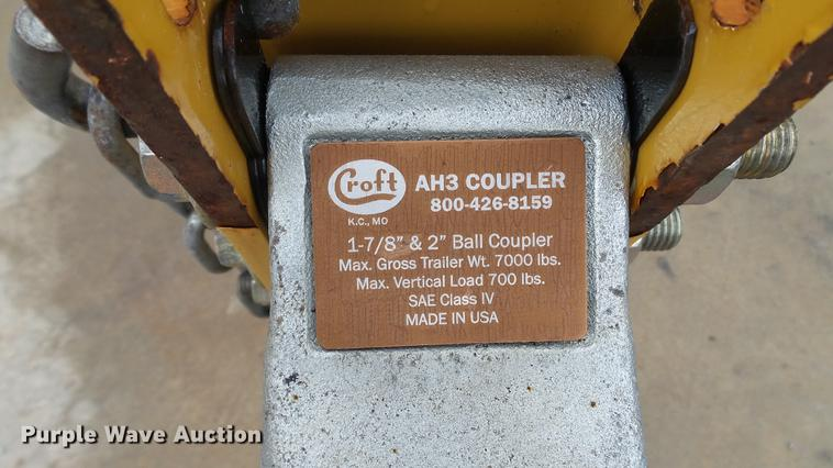 2015 Vermeer BC700XL wood chipper | Item DE4947 | Thursday D