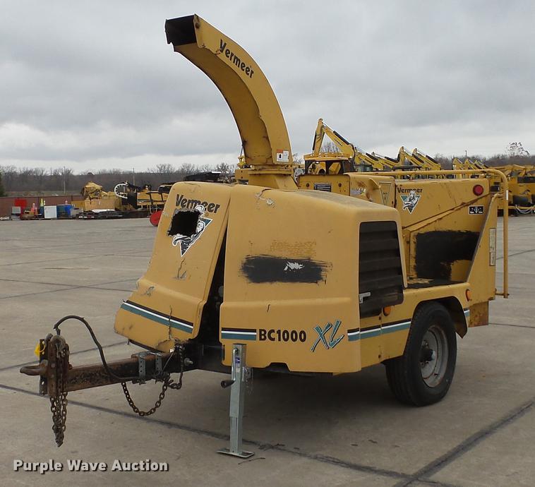 2003 Vermeer BC1000XL wood chipper | Item DE4960 | SOLD! Dec
