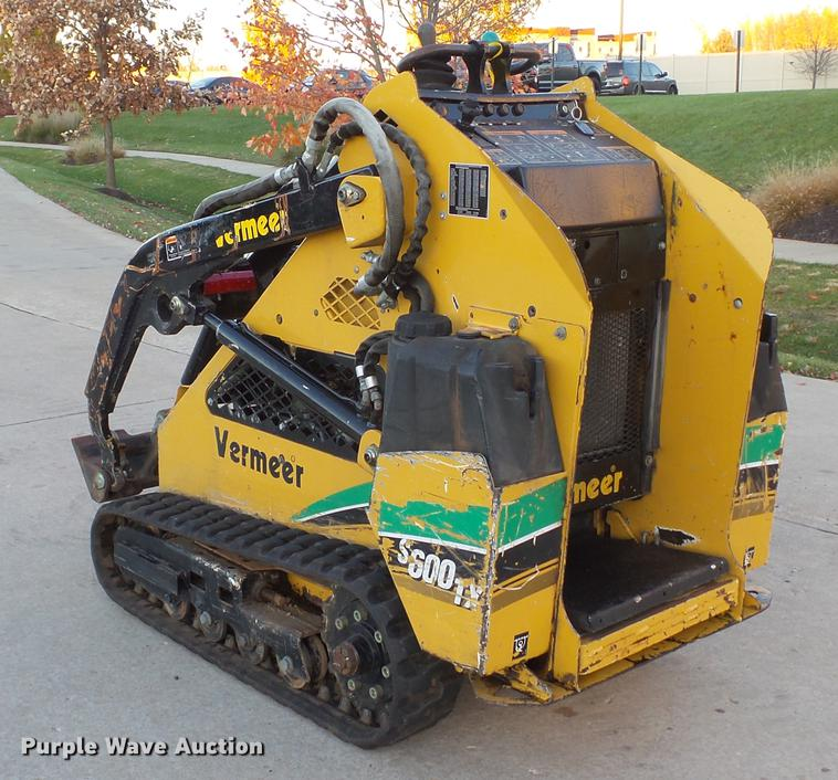 2007 Vermeer S600TX compact utility loader | Item DE4961 | S... on