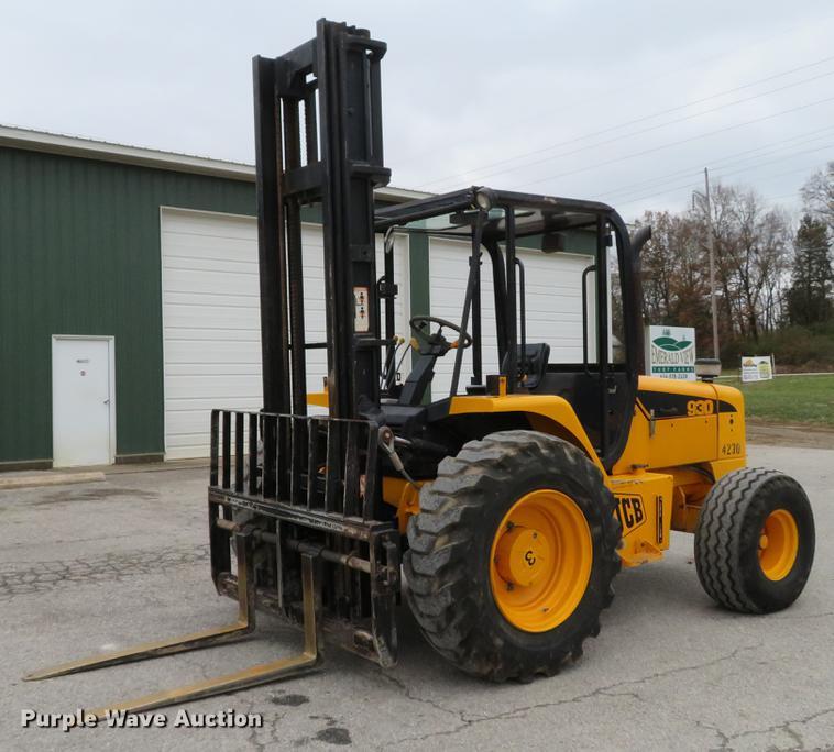 2001 JCB 930 Forklift Item DE5049 SOLD December 27 Aggr
