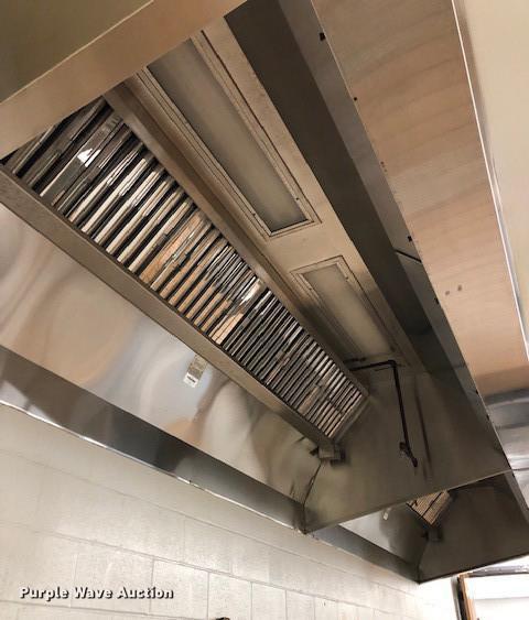 Cyclovent Vent Master 516X stainless steel exhaust fan assem