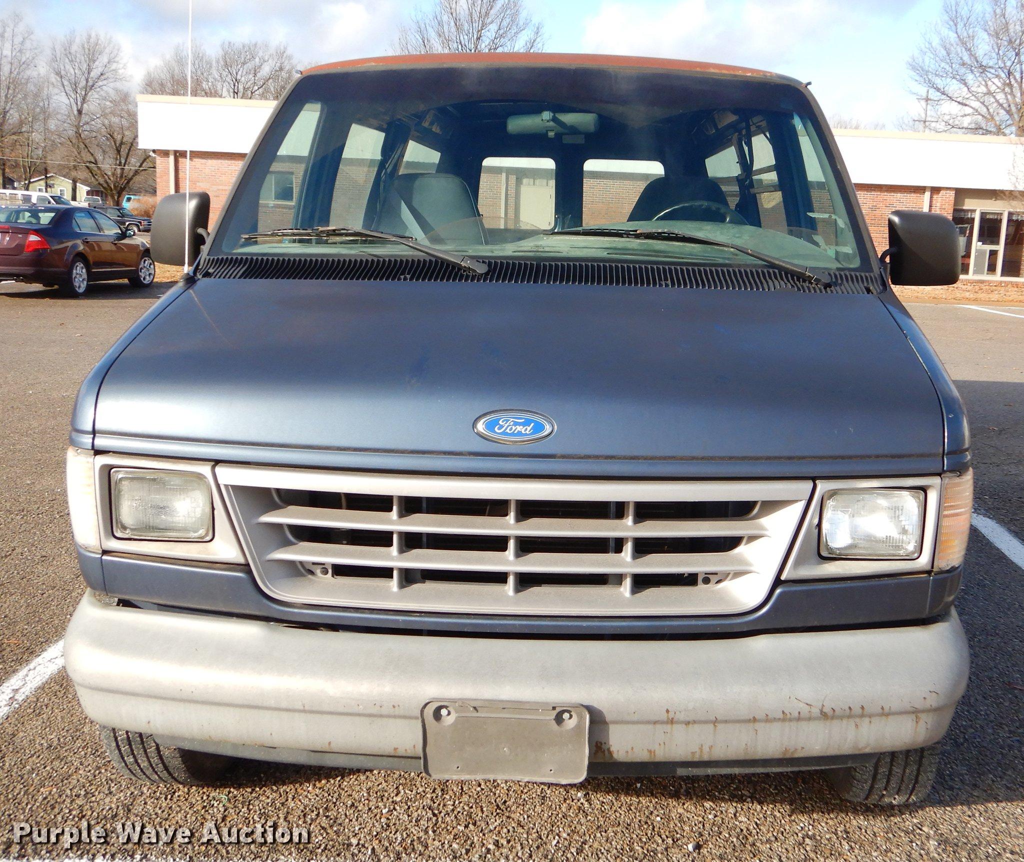 1996 Ford Econoline E150 van | Item ER9375 | Tuesday January