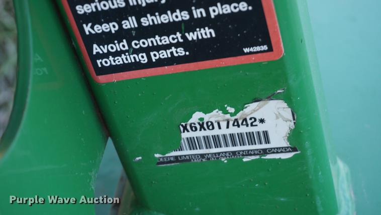 2016 John Deere MX6 rotary mower | Item G1440 | Wednesday Ja