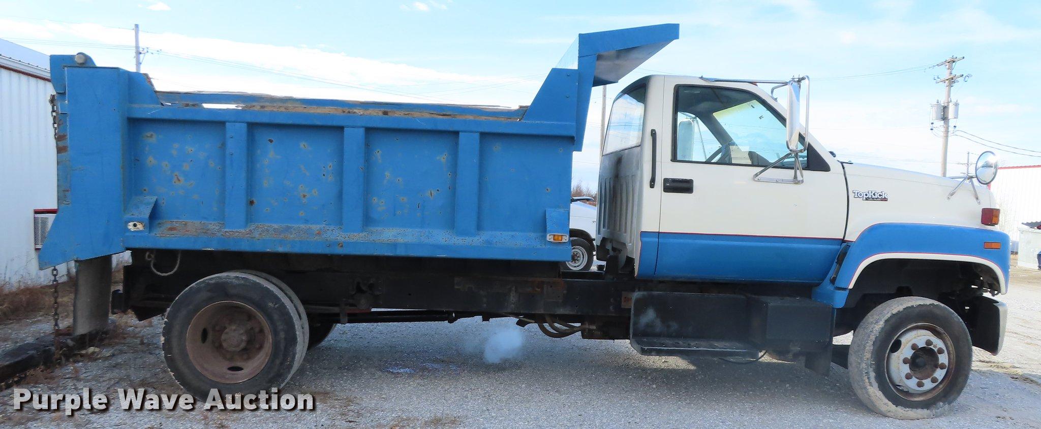 1991 GMC TopKick C7500 dump truck   Item DN9147   SOLD! Janu