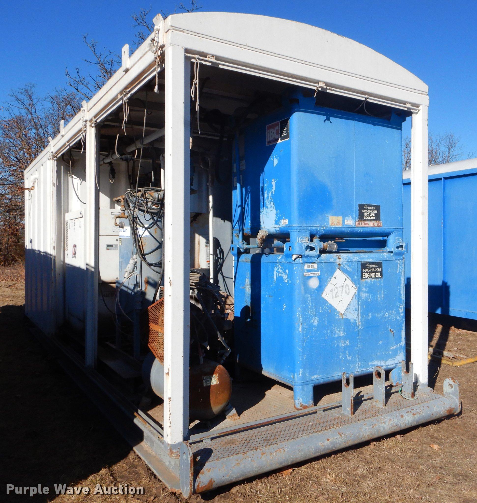 Oilfield compressor skid | Item ER9409 | Wednesday January 3