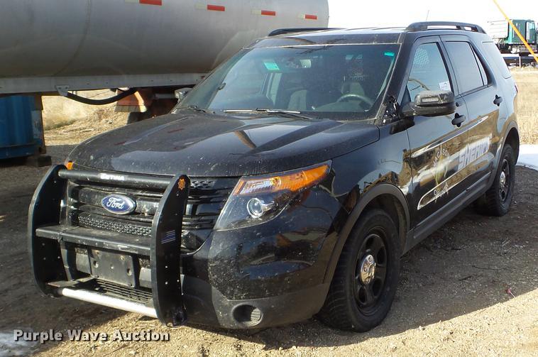 2015 Ford Explorer Police Interceptor SUV Item DC4696 Tu