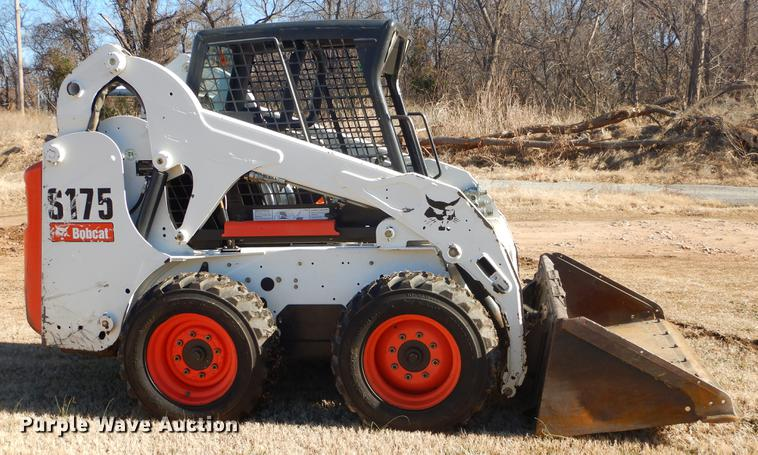 2012 Bobcat S175 skid steer | Item ER9416 | Thursday Februar